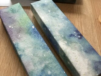 ガラスペン用 星空の化粧箱の画像