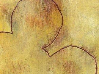 くま (額縁付き)の画像