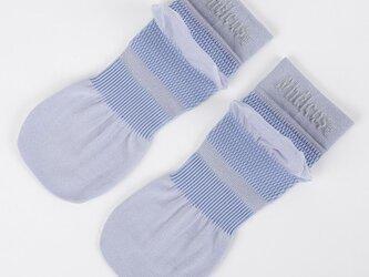 癒本舗の ヒルコス 男女兼用 靴下 抗菌防臭 ショートソックス ライラック 27~29cmの画像