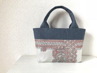 帯バッグ〜シルバー〜の画像