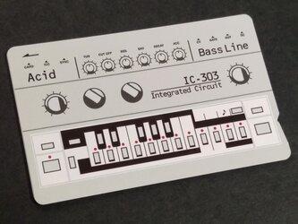 【ICカードステッカー】IC-303 Acid ICカードステッカーBass lineの画像