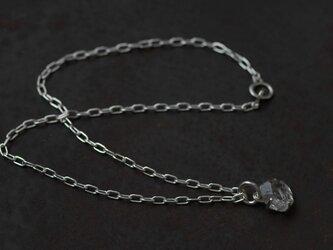 ハーキマーダイヤモンド ネックレスの画像