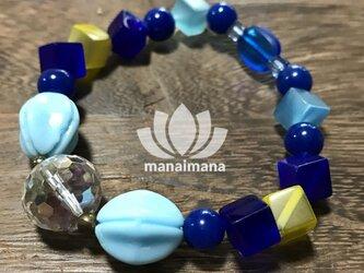【manaimana】☆ 1点もの ☆碧の煌めき 17cmの画像