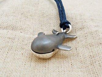 鈴『クジラくん』銀製(シルバー925)の画像
