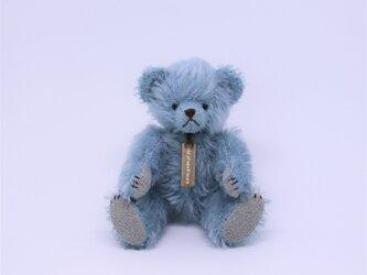 ミニチュアテディベア ブルーの画像