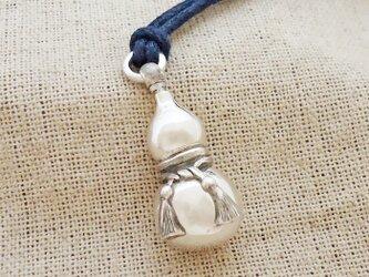 鈴『瓢箪』銀製(シルバー925)の画像