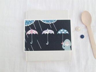「あまつぶ傘」ポストカード2枚セット の画像