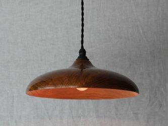 木と漆のランプ 栴檀 (sd5)の画像