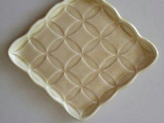 綾series/綾果(ayaka)皿 Lsize (honey)の画像