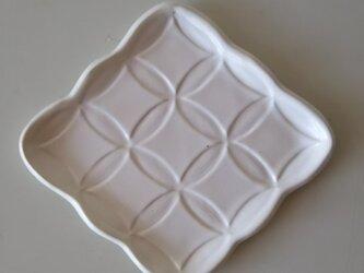 綾series/綾果(ayaka)皿 Msize (milk)の画像