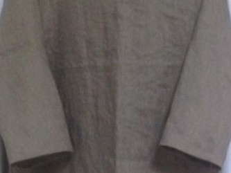 【t様オーダー品】ノースリーブワンピース★ブルーグレーの画像