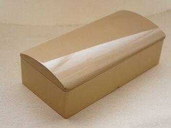 【受注制作】漆塗りランチボックス・ミニボックス S 白漆の画像