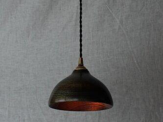 木と漆のランプ 楠 (ks10)の画像