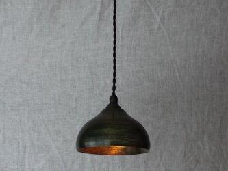 木と漆のランプ 楠 (ks12)の画像