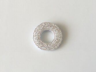 silver ring ♯2  ブローチの画像