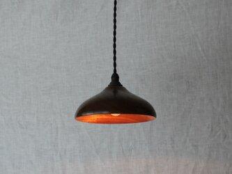 木と漆のランプ 楠 (ks13)の画像