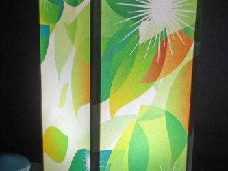 夢灯り≪花びら流離≫紙貼・中形・LED 飾りライトの醍醐味を!!の画像
