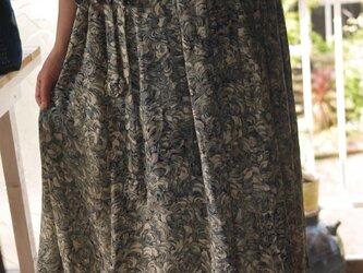 リメイク道行コートからギャザースカートの画像