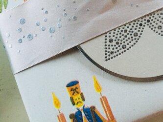 vintage Christmas wrappingpaper 8枚Set枚Setの画像