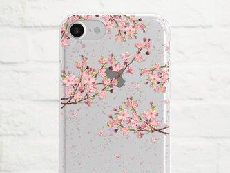 Cherry Blossom クリアソフト ケースの画像