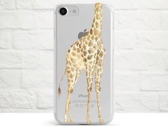 Too Tall a Giraffe クリアソフト ケースの画像