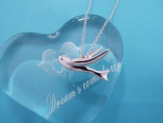 夏!飛び魚 シルバーペンダントの画像