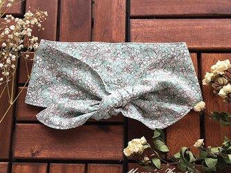 保冷剤 フレンチ ミント グリーン 節約 快適 エコ スカーフ ネッククーラーの画像