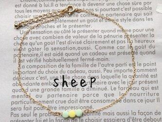 SHEEP閉店ふとっぱらSALEⅡ⑧アンクレット(シャーベット)の画像