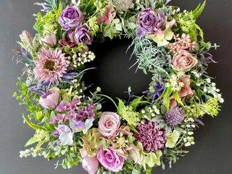 Rose wreathの画像