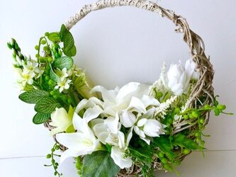 Flower Basket「受注制作」の画像