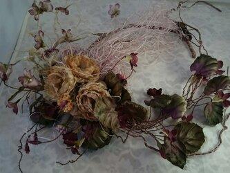 布花リース(薔薇) / 123847865の画像