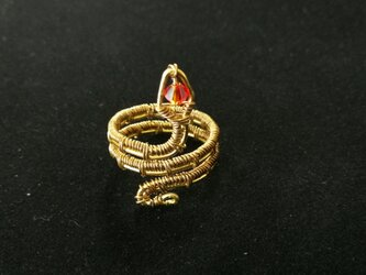 Wire snake ringの画像
