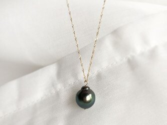 【K10YG】Tahitian Baroque Pearl Necklaceの画像
