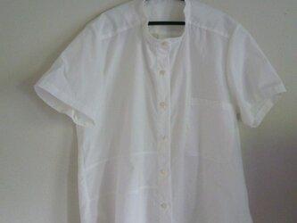 切り替えのあるシャツの画像