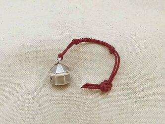 銀製の鈴 『 八角堂 』 (シルバー925) 根付・帯飾りの画像