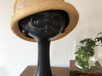 シゾール 夏帽子  ナチュラルの画像