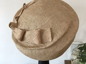 バオ 夏帽子 ナチュラル(りぼん)の画像