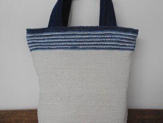 手織りバッグ(裂き織り)の画像