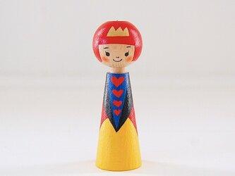 [conocokeshi]指人形・hand puppet[40]ハートの女王の画像