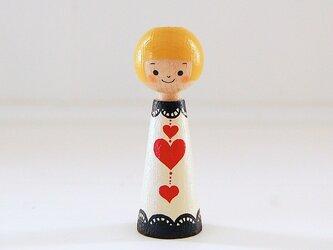 [conocokeshi]指人形・hand puppet[41]トランプ*ハートの画像