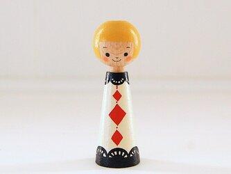 [conocokeshi]指人形・hand puppet[42]トランプ*ダイヤの画像