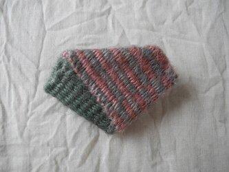 織り折りブローチの画像
