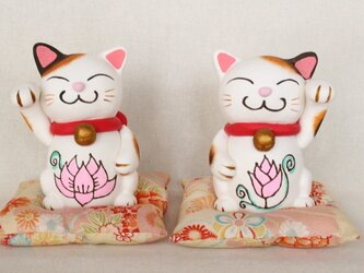 受注制作:来る福❤招き猫セットの画像