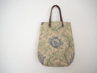 ウィリアム・モリス しずくバッグ「Anemone」タートルダブの画像