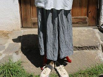 ギャザースカート:ミニギンガムの画像