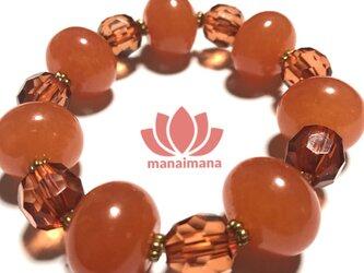 【manaimana】※1点もの 太陽の子(第二チャクラ対応) 15〜16cmの画像