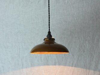 木と漆のランプ 栴檀 (sd6)の画像
