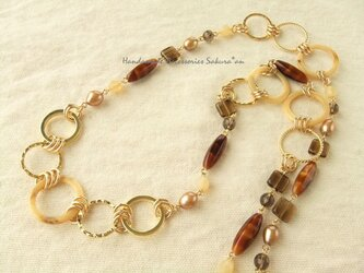 Necklace リング フープ (N1165)の画像