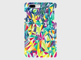 ジオメトリックパターン (マルチカラー)iPhone6Plus/6sPlus/7plus等 大サイズ専用の画像