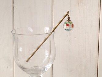 金魚鉢風のかんざし(球)の画像